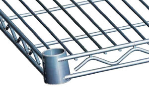 wire shelf either in chrome or eooxy coated