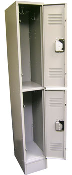 sheet metal locker